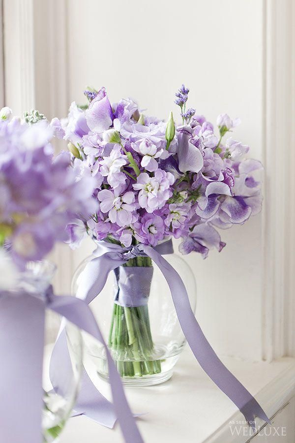 Beautiful purple wedding bouquets the aisle agency pinterest junglespirit Images