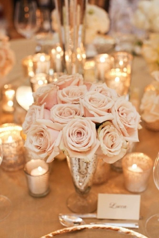 Pink roses candles the aisle agency junglespirit Image collections