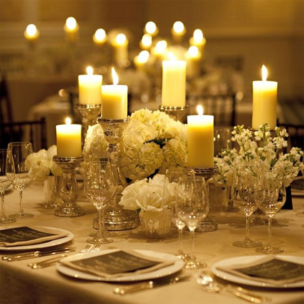 White floral candle the aisle agency junglespirit Image collections